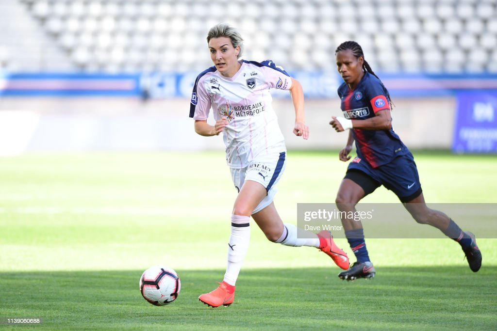 FRA: Paris Saint Germain v FC Girondins de Bordeaux - Women Division 1
