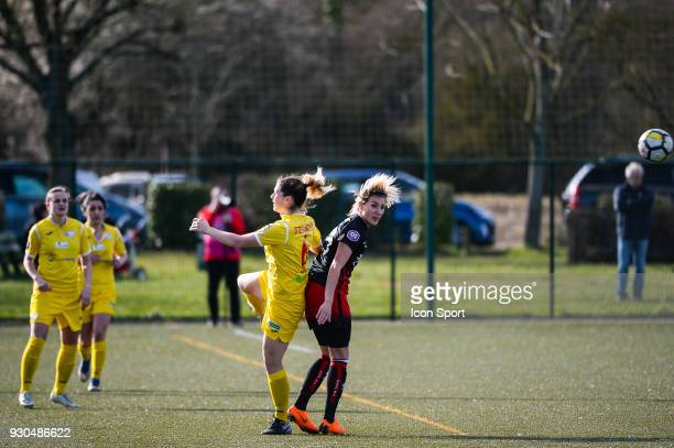 Claire Lavogez of FC Fleury during the French Women Division 1 match between Fleury and Albi on March 11 2018 in Fleury France