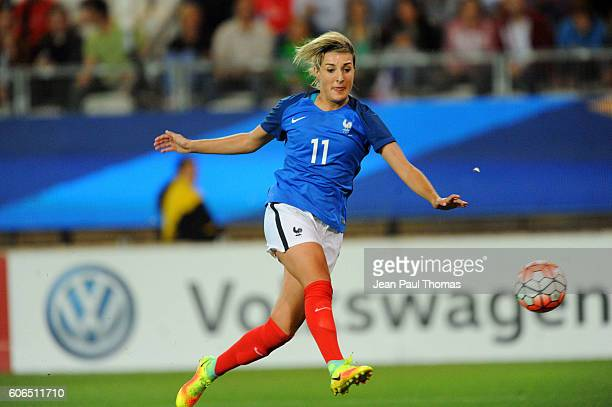 Claire LAVOGEZ of France during the International friendly match between France women and Brazil women on September 16 2016 in Grenoble France