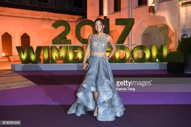 Claire Liu attends the Wimbledon Winners Dinner at The Guildhall on July 16 2017 in London England
