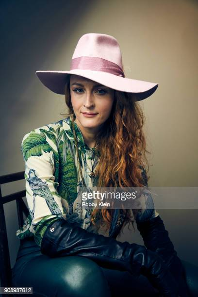 Claire McCarthy from the film 'Ophelia' poses for a portrait in the YouTube x Getty Images Portrait Studio at 2018 Sundance Film Festival on January...