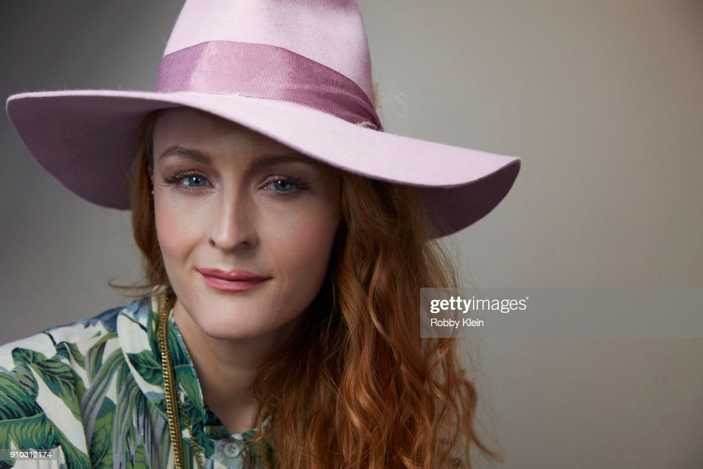Claire McCarthy from the film 'Ophelia' poses for a portrait in the YouTube x Getty Images Portrait Studio at 2018 Sundance Film Festival on January 22, 2018 in Park City, Utah.