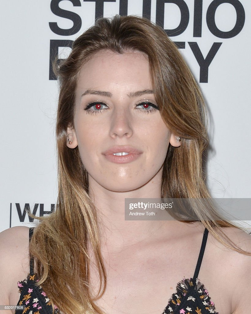 Claire Mcgregor attends the 2016 Whitney Studio Party at The Whitney Museum of American Art on May 17, 2016 in New York City.