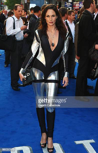 Claire Merry arrives for the UK Film Premiere of 'Star Trek' at the Empire Leicester Square on April 20 2009 in London England