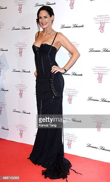 Claire Merry attends Gabrielle's Gala at Old Billingsgate Market on May 7 2014 in London England Gabrielle's Gala is an annual fundraiser in aid of...