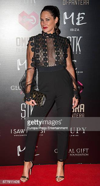 Claire Merry attends Global Gift Gala Ibiza 2016 at Gran Melia Don Pepe Resort on July 19 2016 in Ibiza Spain