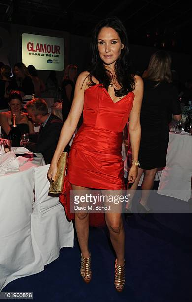 Claire Merry attends the Glamour Women Of The Year Awards at Berkeley Square Gardens on June 8 2010 in London England on June 8 2010 in London England