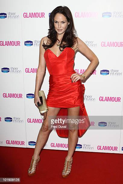 Claire Merry attends the Glamour Women of the Year awards at Berkeley Square Gardens on June 8 2010 in London England