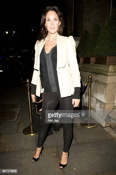 Claire Merry attends the Kathy Lette and Imogen EdwardsJones book launch party at The Artesian on February 11 2009 in London England