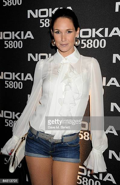 Claire Merry attends the Nokia 5800 launch party at Punk on January 27 2009 in London England
