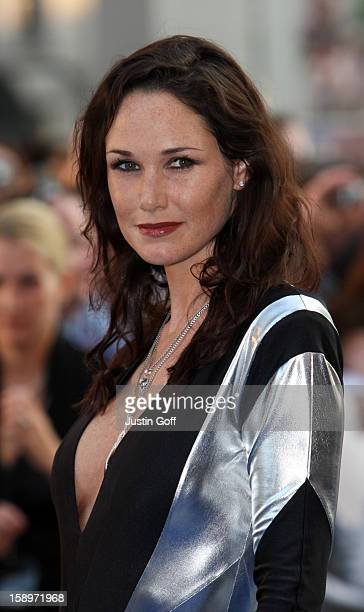 Claire Merry Attends The Uk Film Premiere Of 'Star Trek' At The Empire Leicester Square London