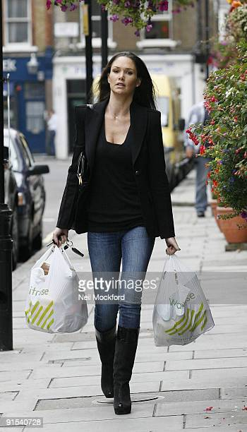Claire Merry sighted arriving at Matt Lucas's home on October 7 2009 in London England