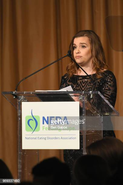 Claire Mysko speaks onstage during the National Eating Disorders Association Annual Gala 2018 at The Pierre Hotel on May 16 2018 in New York City