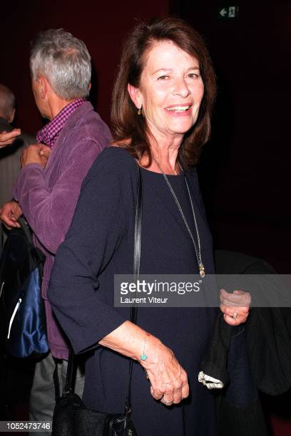Claire Nadeau attends 'Skorpios au Loin' Theater Play Prize 2018 of Fondation Barriere at Theatre Bouffes Parisiens on October 18 2018 in Paris France