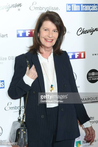 Claire Nadeau attends the 26th Trophees Du Film Francais Photocall at Palais Brongniart on February 05 2019 in Paris France