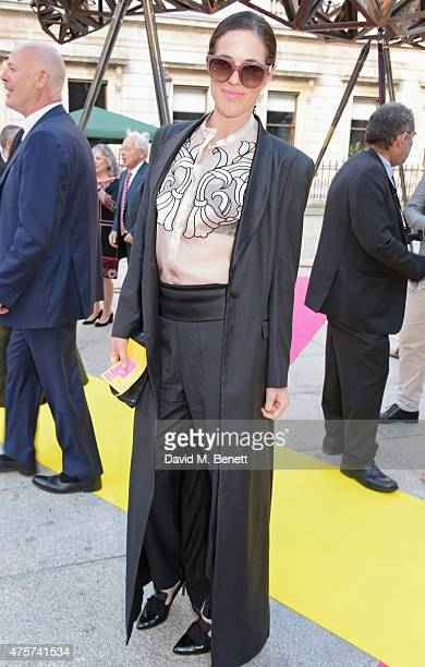 Claire Neate James attends the Royal Academy of Arts Summer Exhibition preview party at the Royal Academy of Arts on June 3 2015 in London England