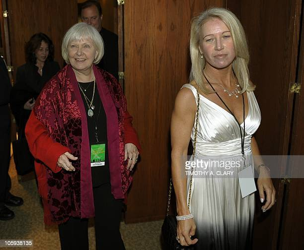 Claire Newman daughter of the late actor Paul Newman and his widow Joanne Woodward arrive for A Celebration of Paul Newman's Hole in the Wall Camps...