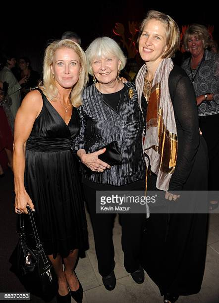 Claire Newman Joanne Woodward and Melissa Newman attend the after party for the celebration of Paul Newman's Hole in the Wall camps at Alice Tully...