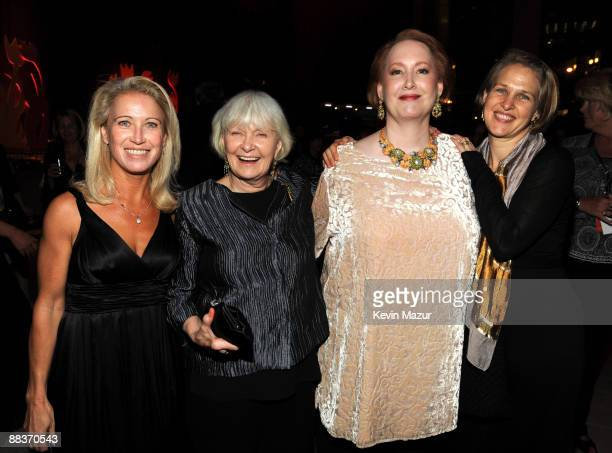 Claire Newman Joanne Woodward Susan Newman and Melissa Newman attend the after party for the celebration of Paul Newman's Hole in the Wall camps at...