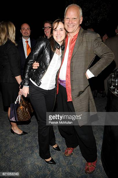 Claire Pijoulat and Tucker Robbins attend METROPOLITAN HOME Design 100 Party at The Four Seasons Restaurant on May 20 2008 in New York City