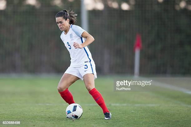 Claire Rafferty during the preseason friendly match between national women's Sweden vs England in Pinatar Arena San Pedro del Pinatar Murcia SPAIN...