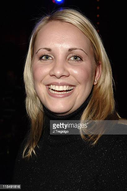 Claire Richards during 'Saucy Jack and the Space Vixens' Party December 6 2005 at The Venue in London Great Britain