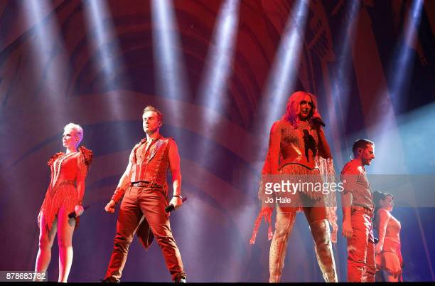 ONLY Claire Richards Ian 'H' Watkins Faye Tozer Lee LatchfordEvans and Lisa ScottLee of Steps perform at The O2 Arena on November 24 2017 in London...