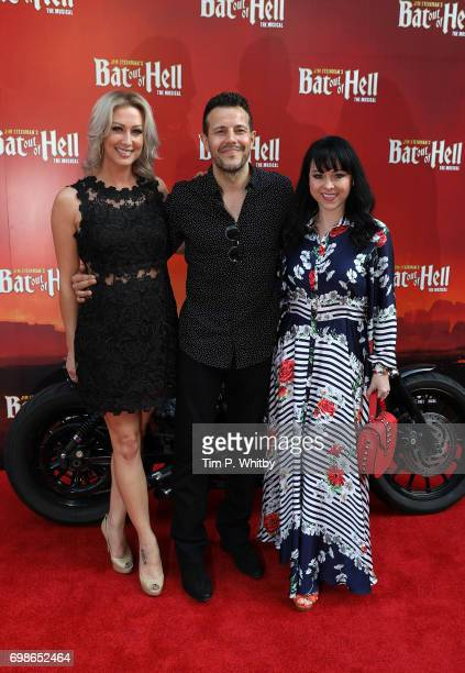 Claire Richards Lee LatchfordEvans and Lisa ScottLee of Steps attend the press night of 'Bat Our Of Hell The Musical' at The London Coliseum on June...