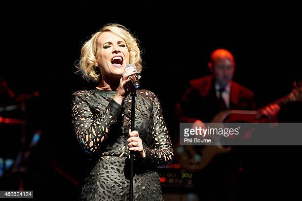 Claire Richards performs at the Pete Waterman A Life In Song concert at the Royal Festival Hall on July 29 2015 in London England