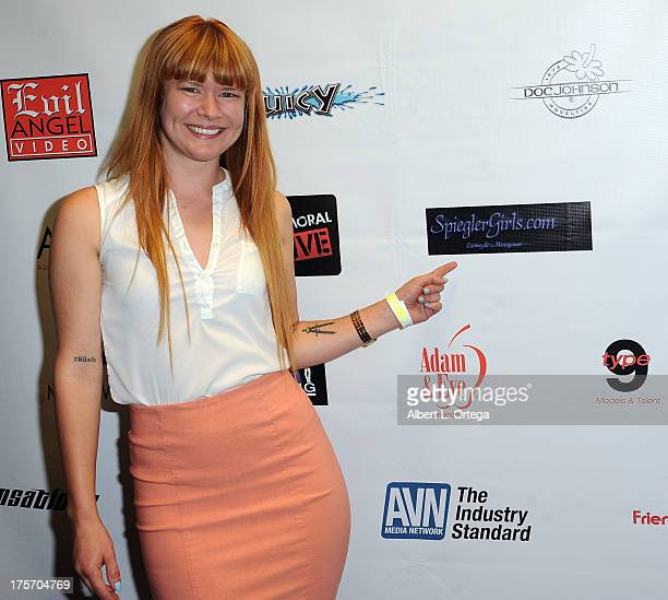 Claire Robbins participates in Porn Star Bowling for the Free Speech Coalition held at Corbin Bowl on July 28 2013 in Tarzana California