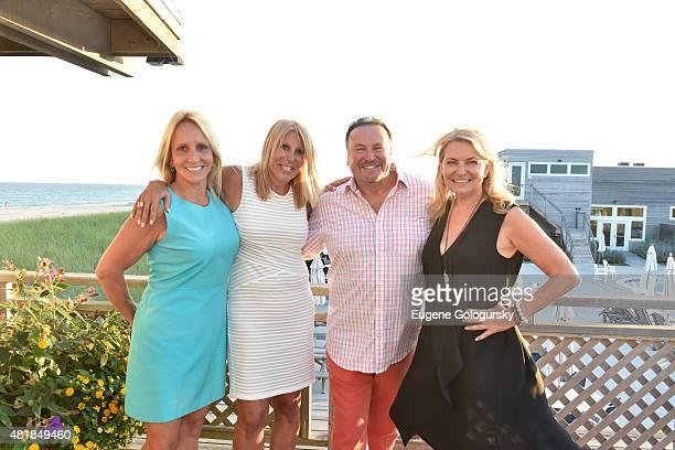 Claire Romano Dottie Herman Michael Romano and Debra Halpert attend the Hamptons Magazine And Douglas Elliman Hosting of A Summer Soiree With Robbins...