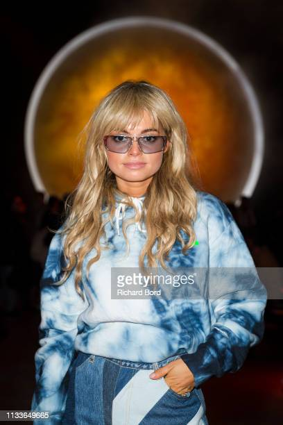 Claire Rose Cliteur attends the Shiatzy Chen show as part of the Paris Fashion Week Womenswear Fall/Winter 2019/2020 on March 04 2019 in Paris France