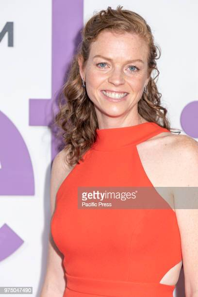Claire Scanton attends the New York special screening of the Netflix film 'Set It Up' at AMC Loews Lincoln Square