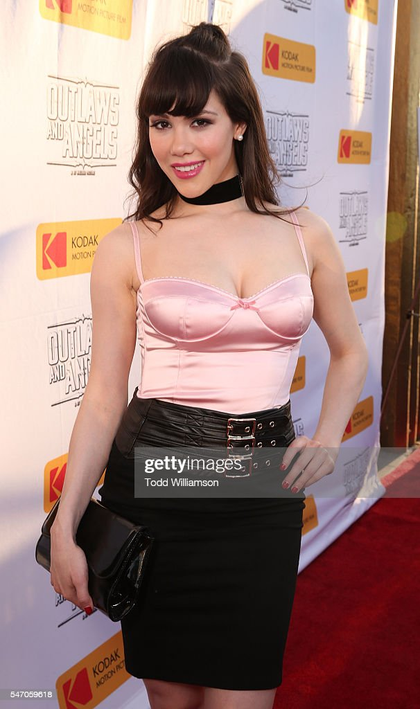 """Premiere Of Momentum Pictures' """"Outlaws And Angels"""" - Red Carpet"""