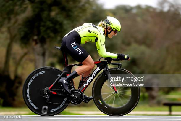 Claire Steels of The United Kingdom and Team Sopela Womens / during the 6th Ceratizit Challenge by La Vuelta 2020, Stage 2 a 9,3km individual time...