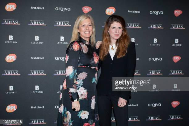 Claire Sturgess and Danielle Perry attends the Audio and Radio Industry Awards at First Direct Arena Leeds on October 18 2018 in Leeds England