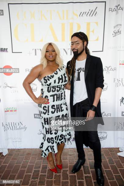 Claire Sulmers and Ty Hunter attend their event 'Claire and Ty Hunter Brunch' at Soho Atlanta on December 2 2017 in Atlanta Georgia
