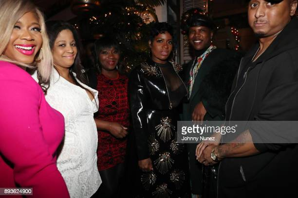 Claire Sulmers Nina Flowers Bevy Smith Fantasia Barrino Miss Lawrence and Gabriel Williams attend the Chez Lucienne Of Harlem Grand ReOpening and...