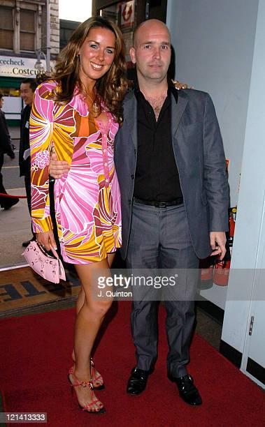 Claire Sweeney and Tim Hibbard during 'Cafeteria' Launch Party Arrivals at Cafeteria in London Great Britain
