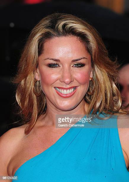 Claire Sweeney arrives at the World Film Premiere of 'Clash of the Titans' at the Empire Leicester Square on March 29 2010 in London England