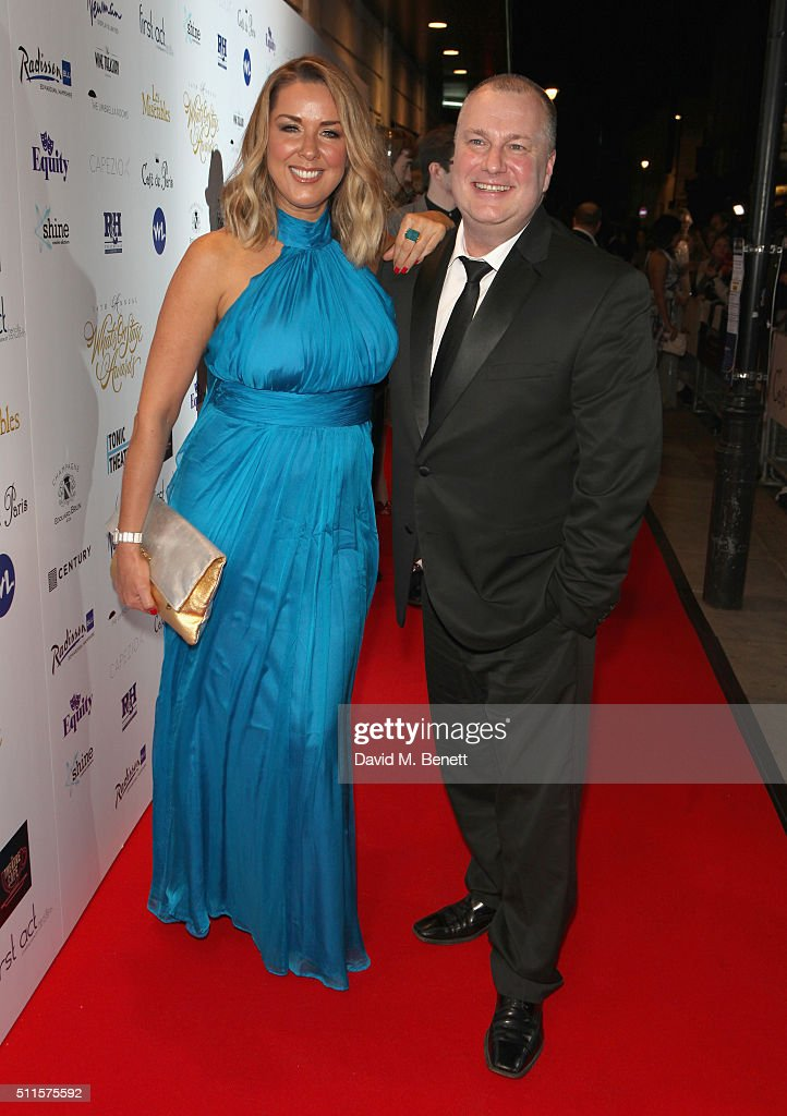 Claire Sweeney attends the 16th Annual WhatsOnStage Awards at The Prince of Wales Theatre on February 21, 2016 in London, England.