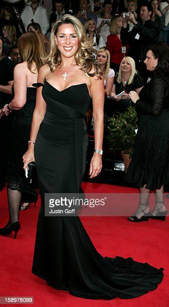 Claire Sweeney Attends The 2006 British Academy Television Awards At London'S Grosvenor House Hotel