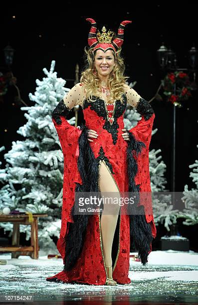 Claire Sweeney attends the First Family Entertainment Pantomime photocall at the Piccadilly Theatre on November 26 2010 in London England