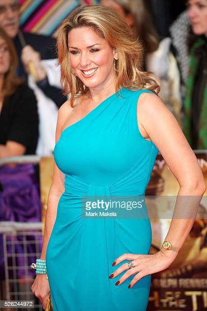 Claire Sweeney attends the world premiere of 'The Clash of the Titans' a remake of the 1981 film at Empire Leicester Square London With a narrative...