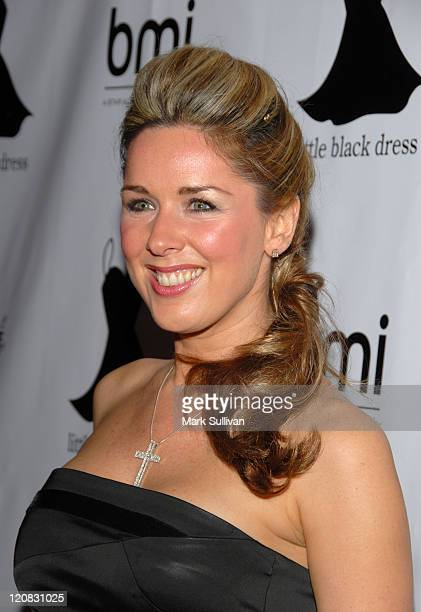 Claire Sweeney during 2006 Little Black Dress Gala and Auction Inside at Urbis Manchester in Manchester Great Britain