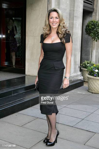 Claire Sweeney during 2006 Sony Radio Academy Awards Outside Arrivals at Grosvenor House in London Great Britain United Kingdom