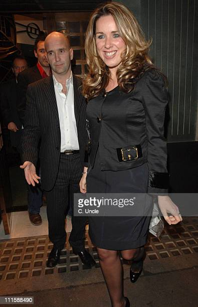 Claire Sweeney during Claire Sweeney and Kenny Goss Sighting at the Ivy March 15th 2006 at The Ivy Restaurant in London Great Britain