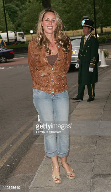 Claire Sweeney during Dorchester Bar Launch Party at Dorchester Hotel in London Great Britain