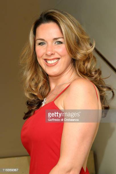Claire Sweeney during 'Festival of Trees' Annual Fundraiser for Save the Children November 30 2004 at One Aldwych in London Great Britain