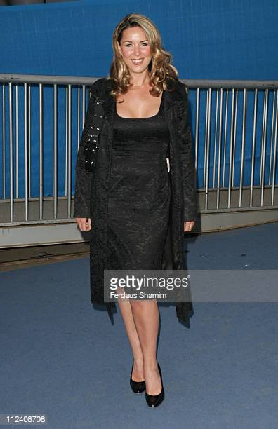 Claire Sweeney during 'IceSpace' Launch Party at IceSpace in London Great Britain